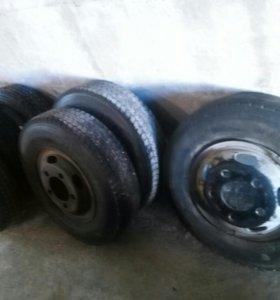6 грузовых колес R16 с дисками 5*150 Canter Atlas