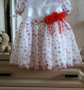 Нарядное платье 80-86