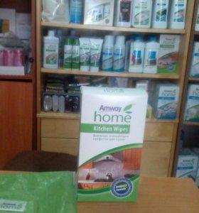 Очищащие салфетки д/ кухни  Продукция амвей