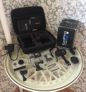 Экшен камера GoPro 3. Комплект и бонусы