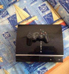 PlayStation 3 + 3 игры в подарок