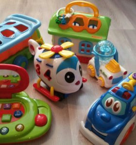 Детские развивающие игрушки.