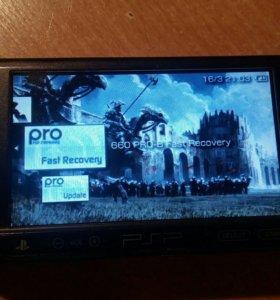 PSP E1008+карта памяти на 8Гб (прошитая)