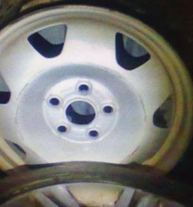 Диски грузовые бу Volkswagen R17 5x120 4шт подбор