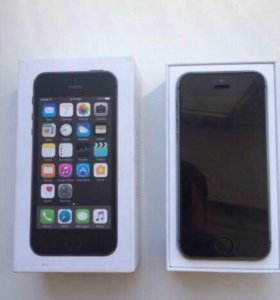 iPhone apple 5s, 32 gb, space gray