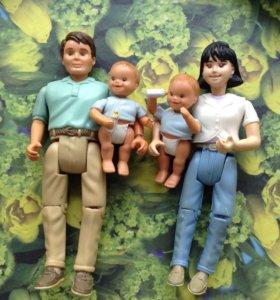 Куклы. Семейка