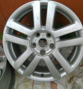 Диски от VW Sharan R17!оригинал!!! Торг!!