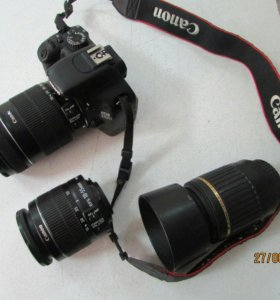 Canon 550D(18мп) с объективом на выбор