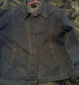 Джинсовая куртка или пиджак