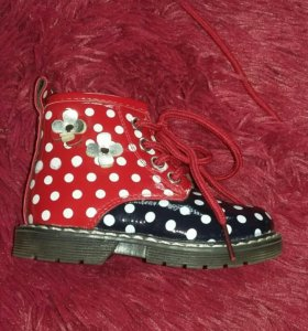Весенне -осенние ботинки... Размер 19-20