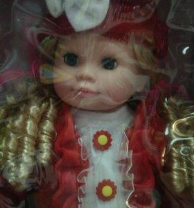 Интерактивная кукла Настя.
