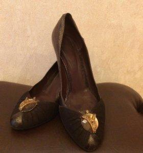 Туфли кожаные 38р