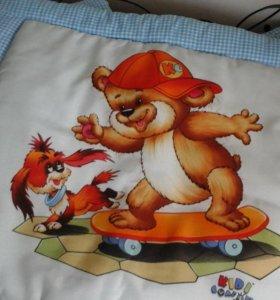 Продам бортики в детскую кроватку