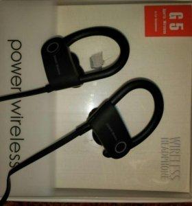 НОВЫЕ! Беспроводные наушники Power 3 Wireless