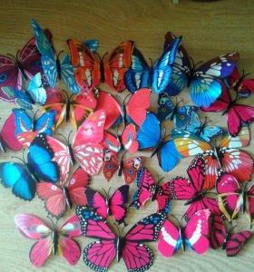 Бабочки для декора