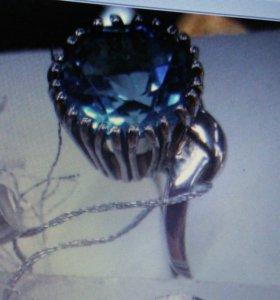 Кольцо серебро 925 новое