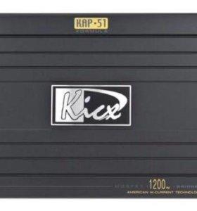 Сабвуфер Polk audio db 1212 + усилитель kicx cap51