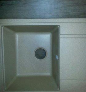 Мойка кухонная каменная