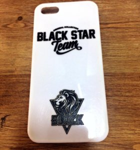 Чехол black star 5-5s