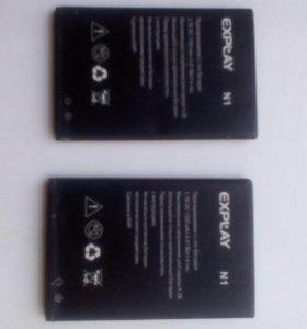 Аккумулятор на Explay N1
