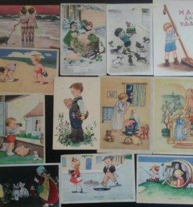 Винтажные открытки 190..-1947 гг.