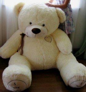 Большой плюшевый медведь (150см)