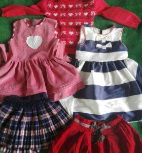 Одежда для девочки, 5 вещей
