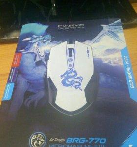 Marvo BRG-770. Игровая мышь. Новая