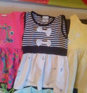 Пакет вещей на девочку 2-3 года