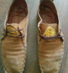 Кожаная обувь р39-40