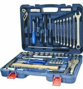 Набор инструмента KR-TK72 1/2''DR & 1/4'' DR 6гр