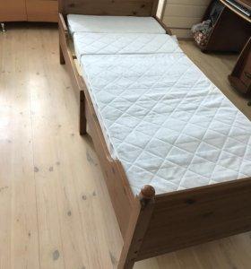 Кровать Лексвик ИКЕА