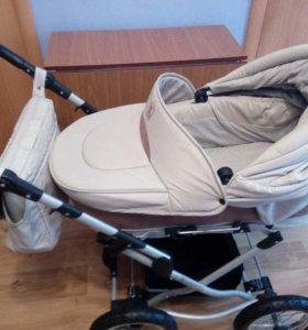 Детская прогулочная коляска два в одном