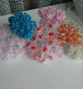 Декоративные вставки, цветы, свадебный декор
