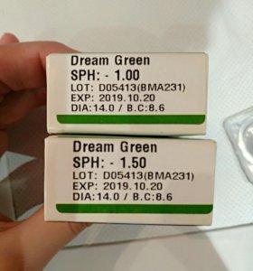 Линзы цветные Hera dream