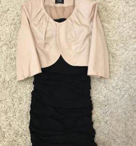 Платье +жакет