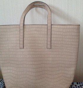 Новая сумка из кожзаменителя