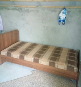 Кровать 1-на местная.