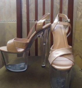 Туфли танцевальные, стрипы