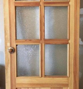 Дверь межкомнатная стеклянная