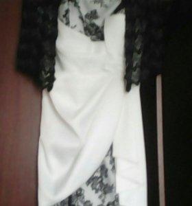 Платье одета 1 раз размер 50