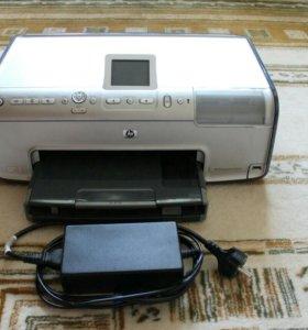 Фотопринтер HP Photosmart + фотобумага