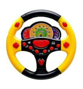 """игрушка Детский руль """"Веселые гонки"""" (свет, звук,)"""