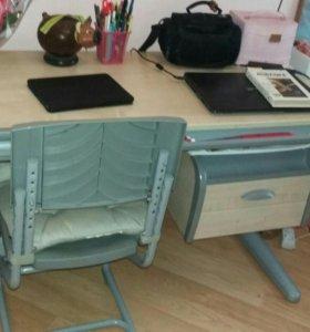 Парта школьная Деми со стулом