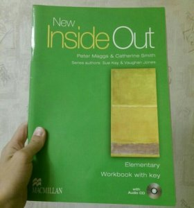 Inside out Elementary 2 книги и диск