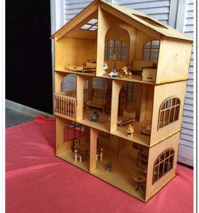 Кукольный домик SMART KIDS