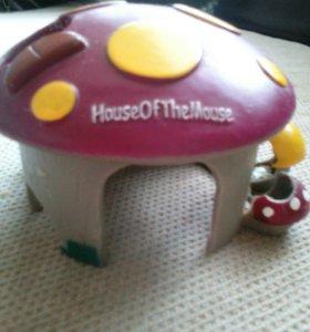 Домик для хомяков