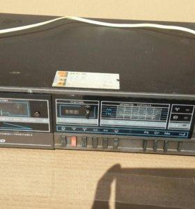 Стереомагнитофон приставка кассетная рапри мп-1020