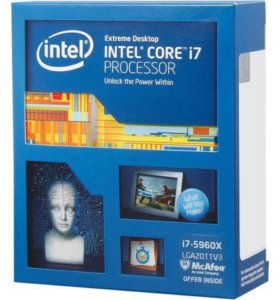 Intel Core i7 5960x Extreme Edition Box