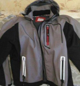 Куртка ветровка не промокаемая со светоотражателям